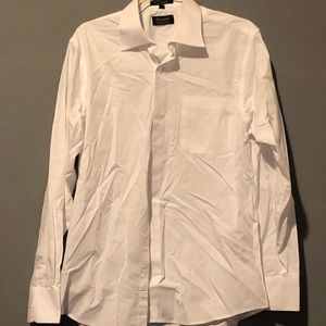 Other - White collared shirt perfect for suit/blazer